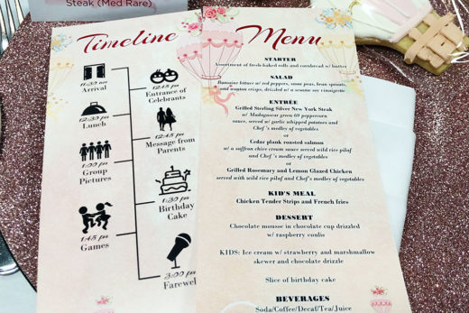 Vertical Flat Menu